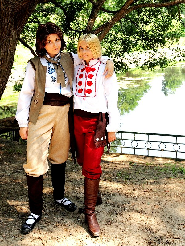 Hetalia axis powers Lithuania and Poland
